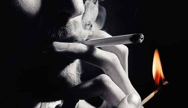 The spell on the cigarette is easy to do at home