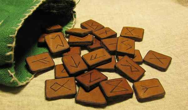 The spell on the runes - magic rune formulas