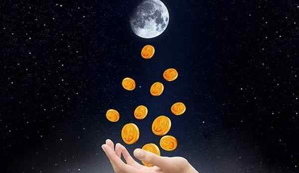 A conspiracy in the new moon for money and prosperity