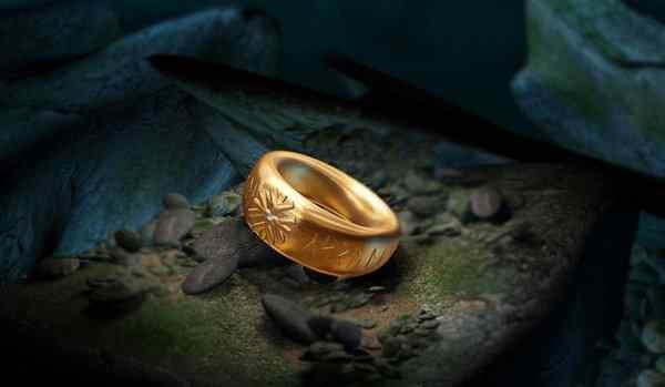 The plot on the ring - a symbol of eternal love