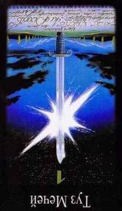 Туз мечей Таро - значение карты