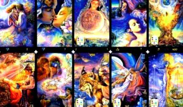 Divination by the Tarot - layouts to clarify various situations