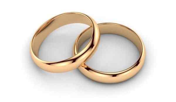 Обряд с обручальным кольцом