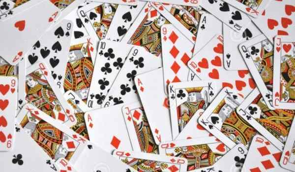 Ways of guessing on playing cards for true answers