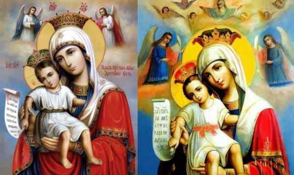 Молитва «Достойно есть», текст молитвы на русском, на греческом, на церковнославянском, с ударениями, слушать онлайн молитву