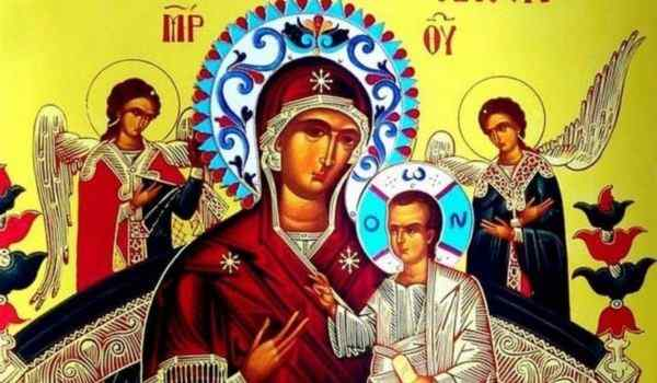 Молитва перед иконой Божьей Матери Всецарица;: от рака, при онкологии, об исцелении, текст, слушать акафист