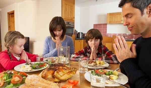 Молитва перед едой, после еды, православная, мусульманская, на русском языке