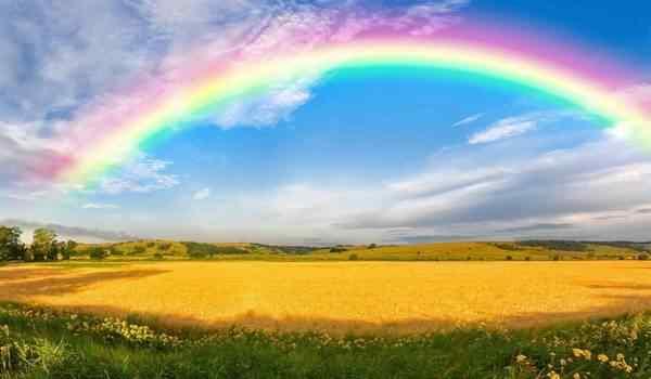 Красивая радуга во сне