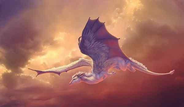 Белый дракон во сне