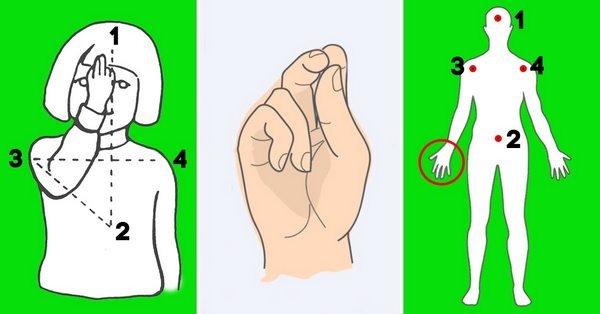 Как сложить пальцы рук